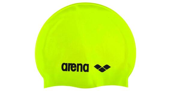 arena Classic Silicone Cap acid lime-black